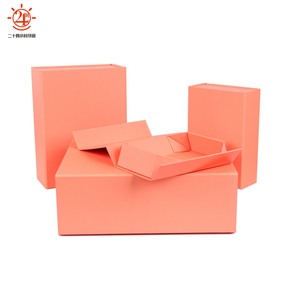 Fancy small folding magnetic collapsible souvenir gift box
