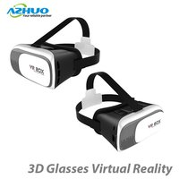 Wholesale cheapest vr box 2.0 3d glasses virtual reality for 4.5 - 6.0 inch smartphone