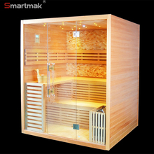 6kW Wellness Sauna Finish personal steam room for fitness