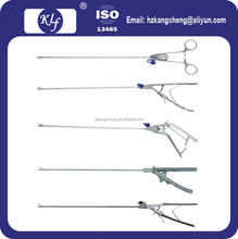 Laparoscopic needle holder ethicon style