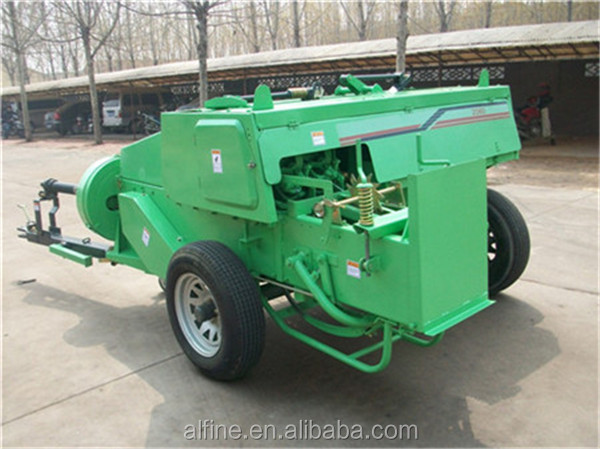 Alibaba wholesale reliable quality mini square hay baler for sale