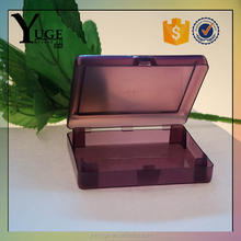 wholesale 2016 newest design transparent light plastic name card box