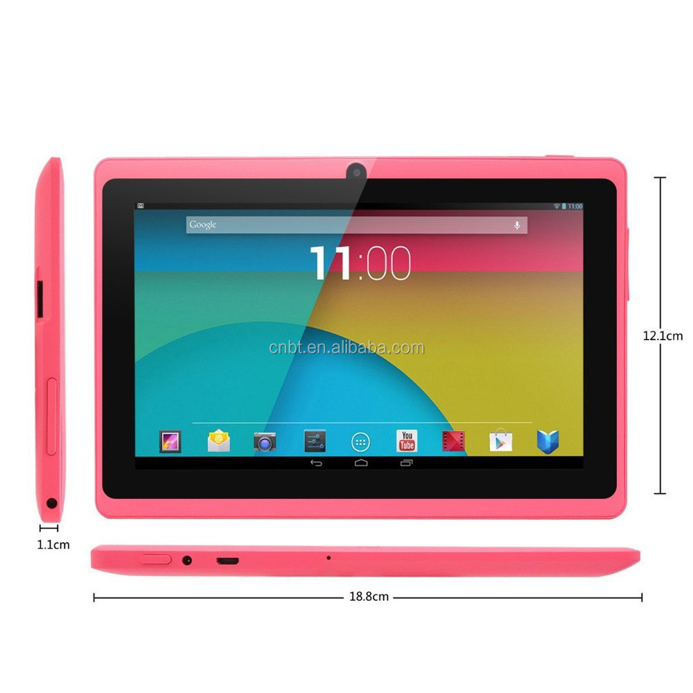 Cheapest 7 inch Q88 quad core android tablet/ best wifi 7
