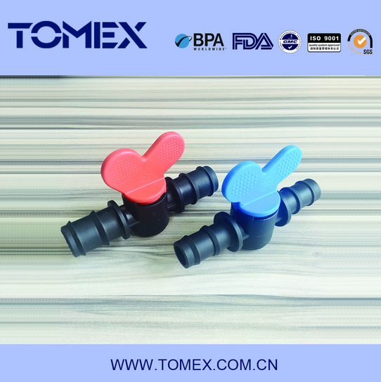 "3/8"" mini plastic check valve /mini duckbill valve"