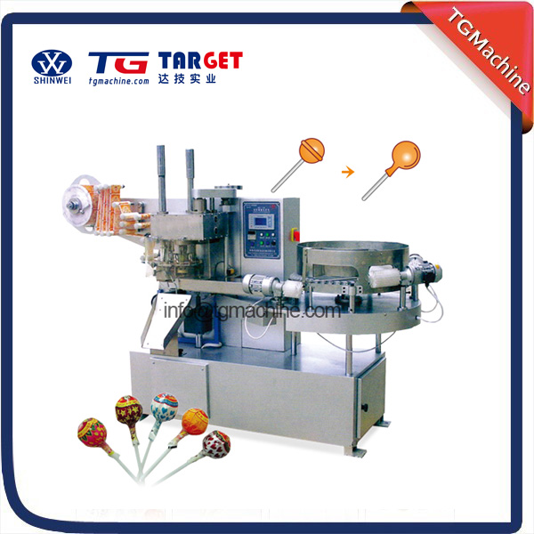 Low cost Automatic lollipop packing machine and lollipop wrapping machine