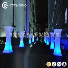 Coolqing Bar /club / party / wedding / KTV / hotel 4 level dimmable brightness illuminated led bar table
