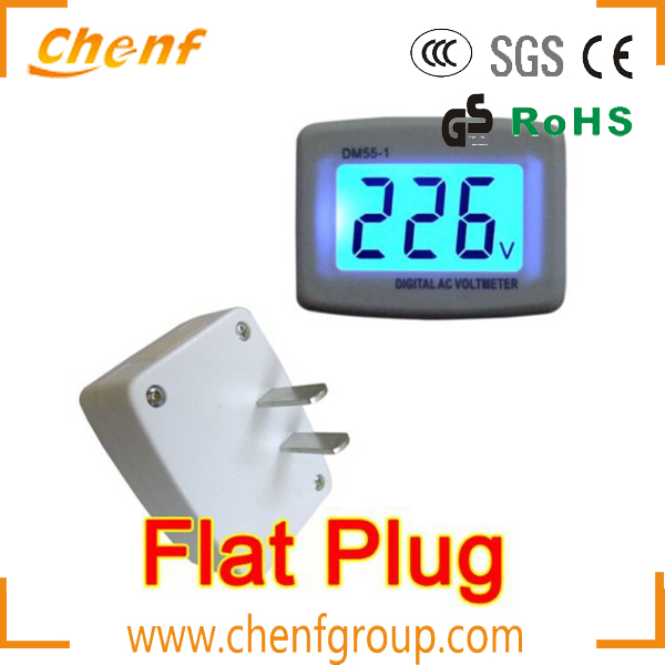 High Quality AC80-300V Digital Small Voltmeter with LCD Display