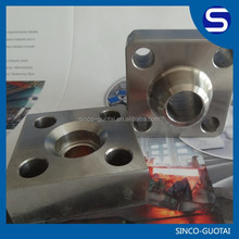 304 stainless steel square tube flange