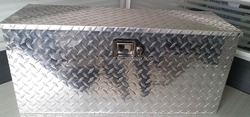 1.5mm Aluminum Material and Box Type Aluminum Job Site Tool Box