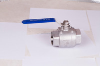 1 Inch 2PC CF8M 1000 WOG Stainless Steel Ball Valve