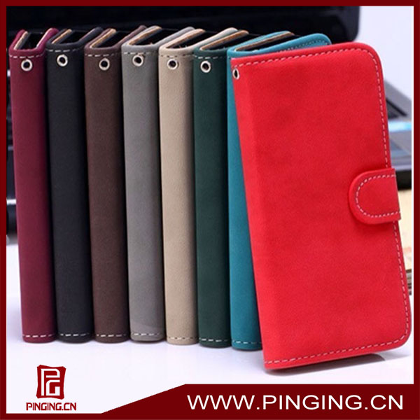 ancient style book flip leather cover case for iphone 5/5s