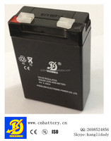storage rechargeable maintenance free Lead acid battery 4v4ah