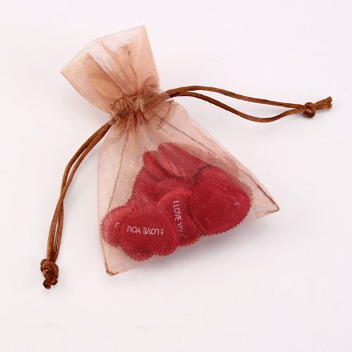 transparent organza bag/neoprene wine pouch/organza bag
