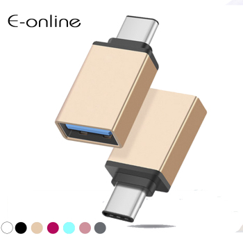 EONLINE USB Type C USB 3.1 OTG for Xiaomi MI4C Macbook Nexus 5X 6p USB Type C OTG Adapter Data Snyc Charging Cable Type-C USB-C