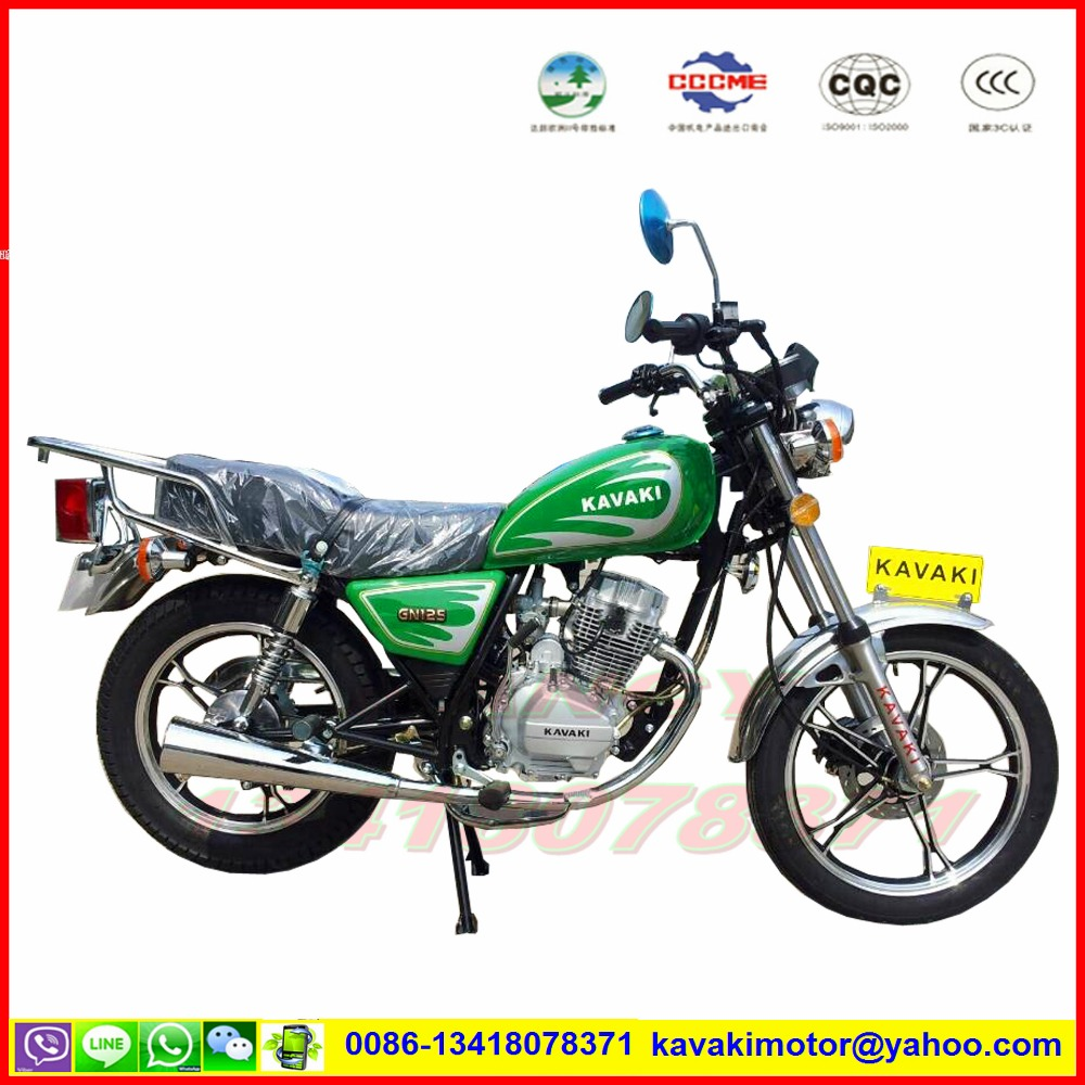 Guangzhou factory cheaper sale CG125 GN125 two wheel motorcycle