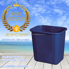 JIE BAOBAO!FACTORY MADE HDPE CLEAR PLASTIC 15L RECYCLED MINI DUSTBIN FOR SCHOOL DESK TIDY BIN