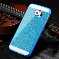 Glitter Shining Plastic Protective Case for Samsung Galaxy S6