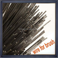 high quality road sweeper brush stainless steel wire