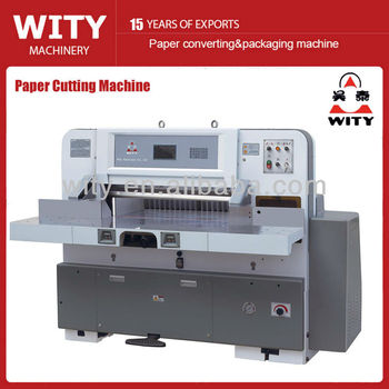 Programmed Paper Cutting Machine (guillotine)