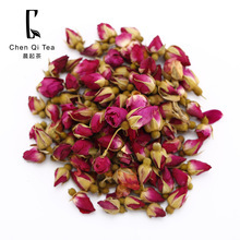Natural red rose flower tea