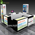 Classic cell phone store fixtures displays, cell phone display counter, phone case display kiosk