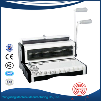 YG-T930 manual Wire Binding Machine wire binder