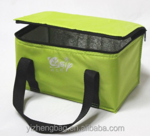 Novelty Nylon single handle insulated cooler bag