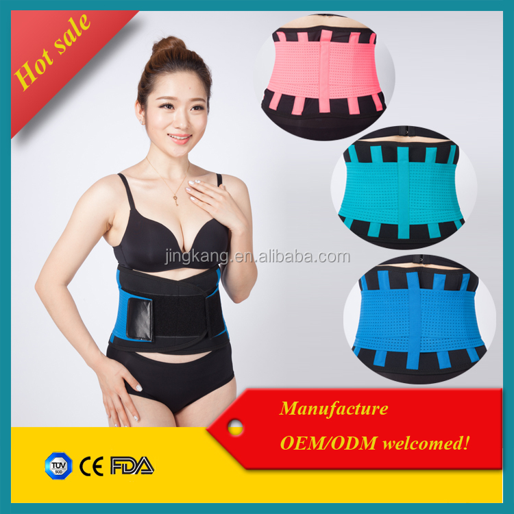 Weight Loss Slimming Belt High quality neoprene back support belt / waist trimmer