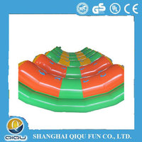 inflatable banana boat, inflatable water seesaw, inflatable water park equipment for summer time