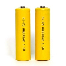 nicd aa 400mah/500mah/600mah 1.2v/3.6v/7.2v rechargeable battery pack