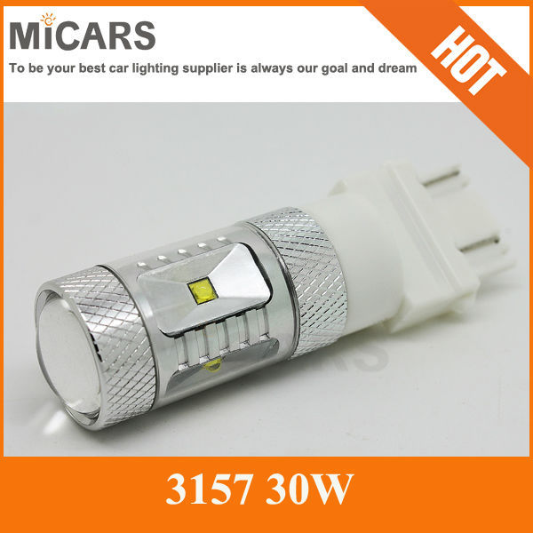 2016 high powerful 3157 led lighting used for cars