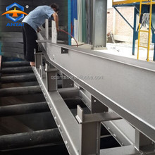 Automatic Roller Conveyor H Beam Steel Sheet Profile Shot Blasting Machine