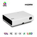2017 New Dlp portable projector USB HDMI VGA AV Digital Video /speaker Projector support blue-tooth 1080p