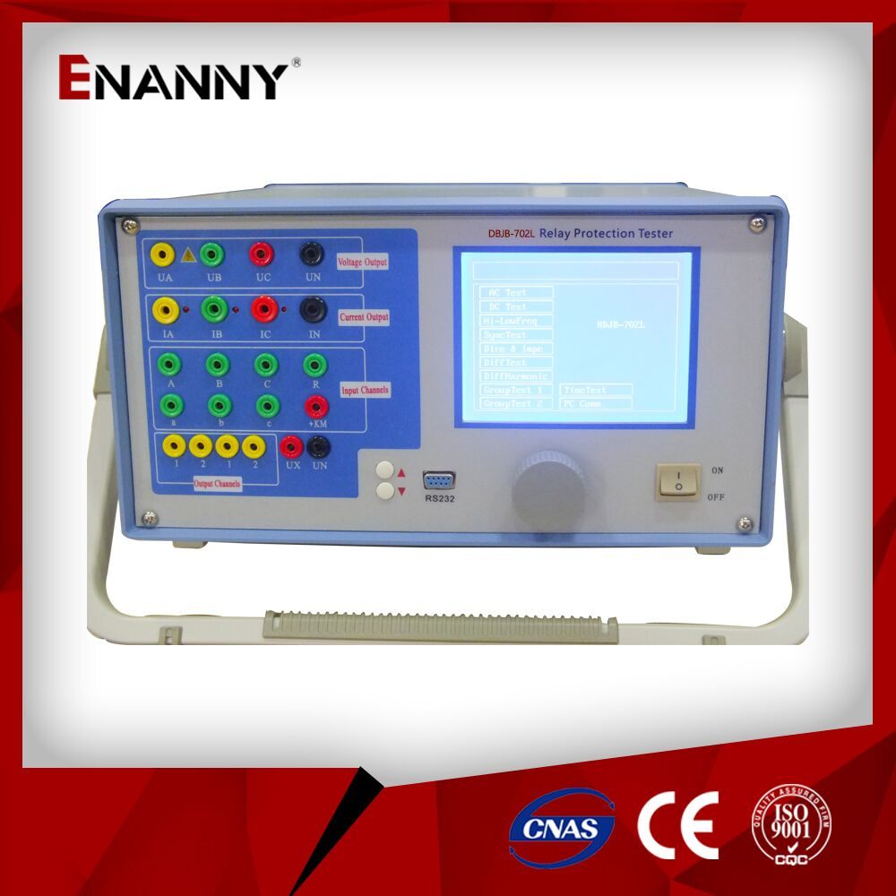 DBJB-702LThree phase relay protection tester eith high efficiency