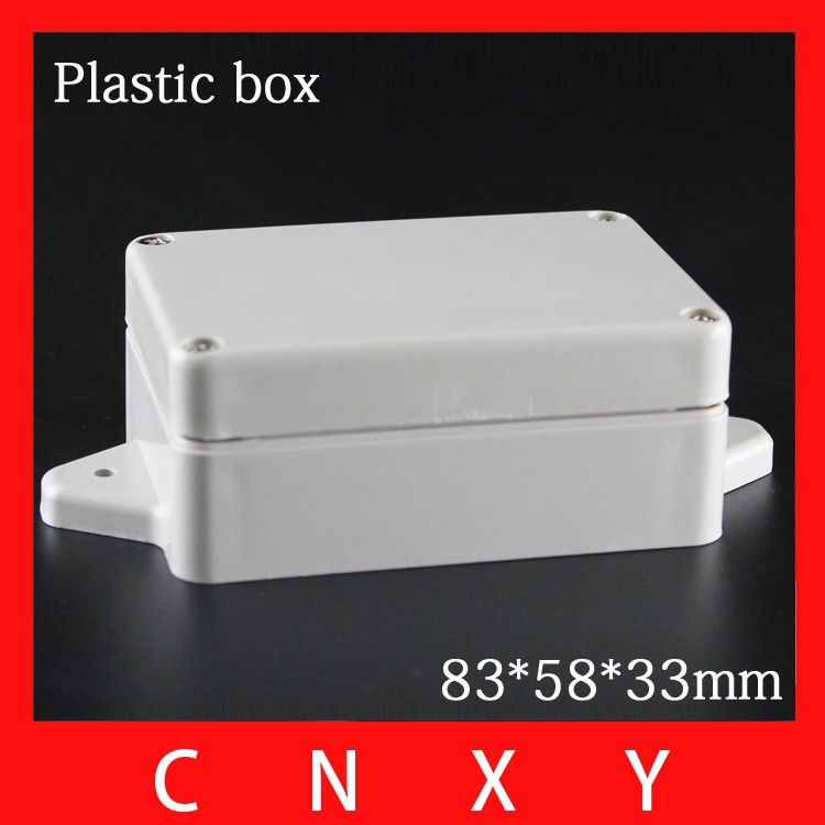 New waterproof hinged plastic box IP65 switch box din rail 83*58*33mm