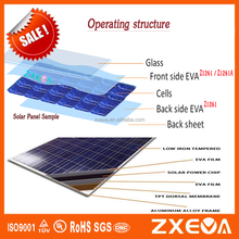 made-in-china solar eva film encapsulant with solar cell, glass, pet backsheet for solar panel