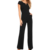 Wholesale Ladies Daily Fashion Wide Leg One Piece Woman Jumpsuit