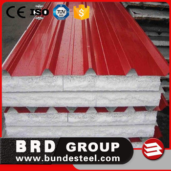 styrofoam, polyfoam EPS Sandwich roof roofing Panels price