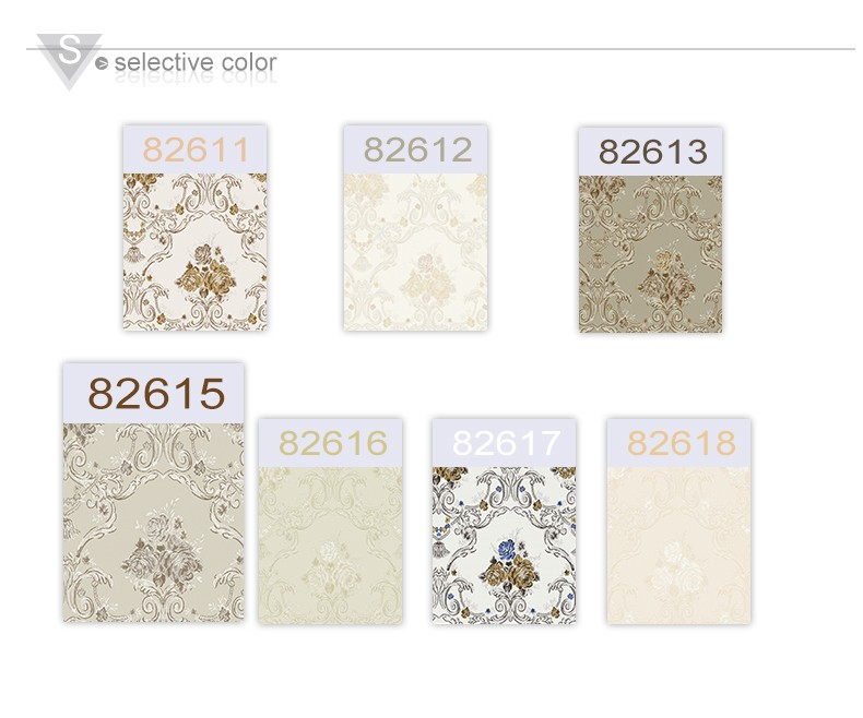 deep embossing flower wallpapers with high quality