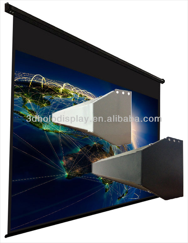 350 Inch Extra Large Electric Projection Screen/Ultra-large Motorized Stage Screen up to 600 inch/Large Electric Screen
