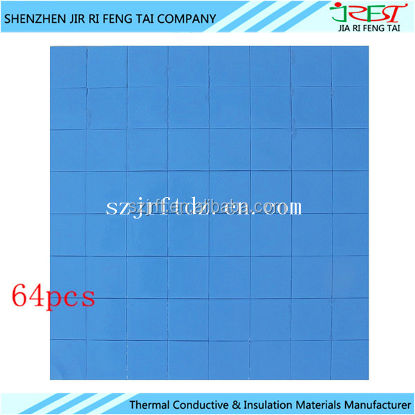 Heat Transfer Thermal Conductive Silicone Rubber Pads For Electronic Products Heat Sink
