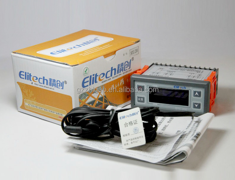 Refrigeration Temperature Controller STC-200+