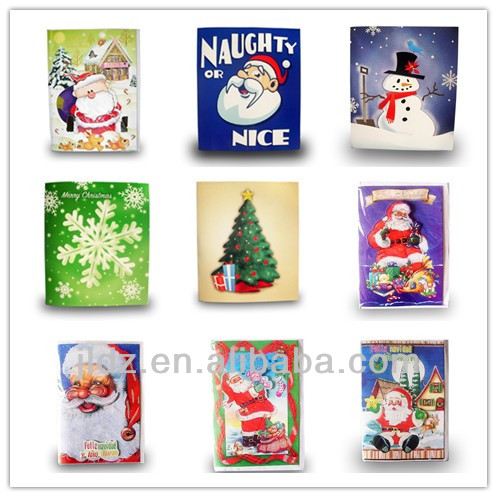 Christmas Greeting Cards With Customized Message