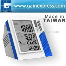 Made in Taiwan/ Digital Wall mount / Desktop Carbon Dioxide CO2 Temperature RH data logger