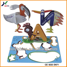 shape sorting puzzle,shaped paper puzzle