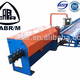 Automatic reforcing steel coil wire straightenningand cutting machine (flying shear)