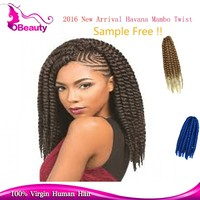 Free sample high quality 5s to 9s to quick shape afro synthetic hair extensions twist braid hair