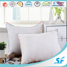 55% white duck down feather pillows