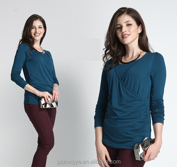 Hot-sale Nursing Top Maternity Breastfeeding Tops