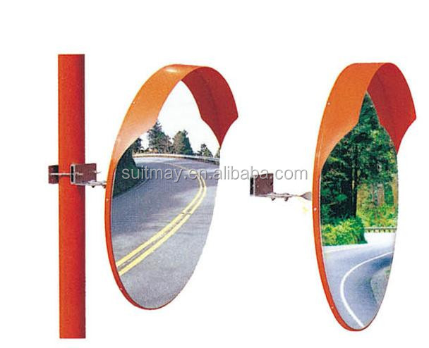 Stainless Steel Convex Mirror 30cm, 50cm, 60cm, 76cm, 80cm, 100cm Outdoor Traffic Mirror